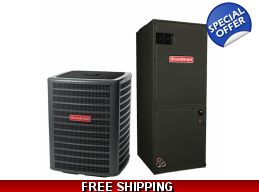 3 Ton 17.5 SEER Heat Pump and Air Conditioning S..